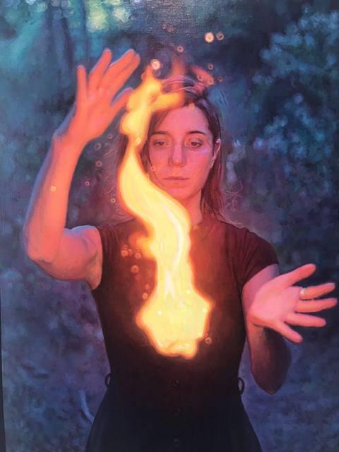 , 'Fuego de Bosque,' 2017, Nuun Espacio de Arte