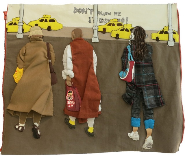 , 'Don't Follow Me I'm Lost Too,' 2013, MUCA