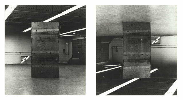 , 'Inverted Plywood,,' 1973, The Metropolitan Museum of Art