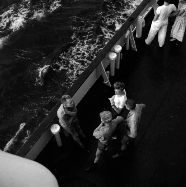 , 'VM1959W02440 – Untitled,1959 Men on Ship Deck,' Printed 2017, KP Projects