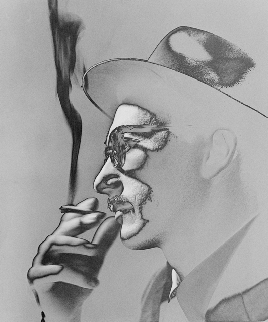 , 'Smoker, 1954,' year print 1970, Utópica
