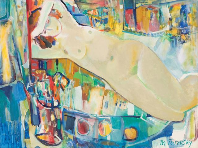 , 'Reclining Nude,' 2015, Vail International Gallery