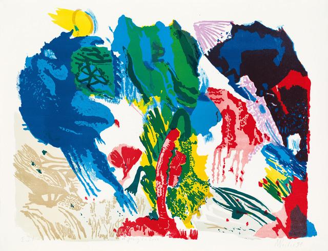 , 'Farbig die Erde,' 1991, Galerie Kovacek & Zetter