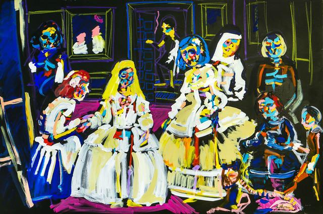 , 'Las Meninas ,' 2017, Maddox Gallery