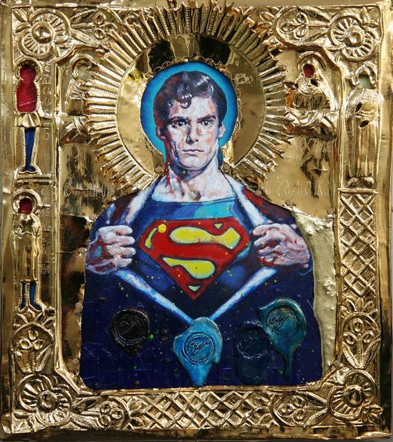 , 'St. Superman,' 2019, Julie Zener Gallery