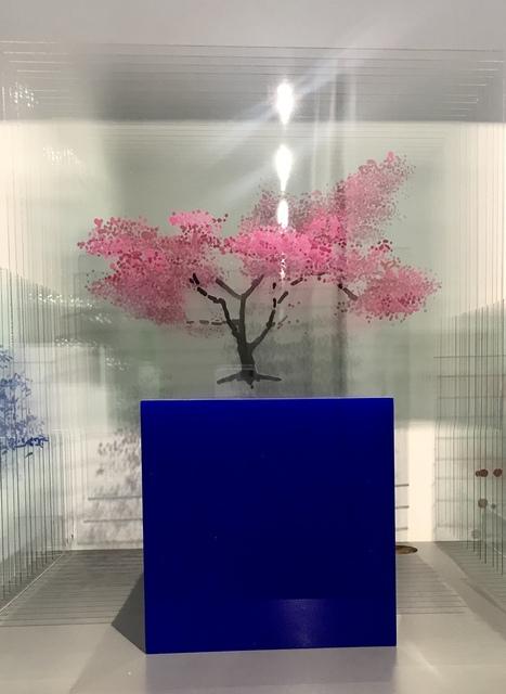Ardan Özmenoğlu, 'Cherry Blossom', 2019, Sculpture, Nail polish on glass, FREMIN GALLERY
