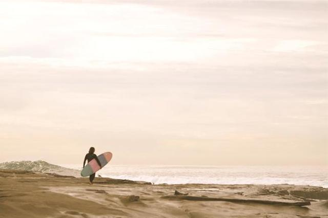 , 'J.P. (pink surfer),' , Heather Gaudio Fine Art