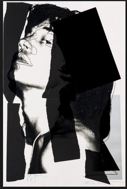 , 'Mick Jagger (#11.144) (black and white),' , The Future Perfect