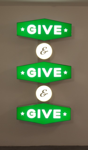 , 'Give and Give and Give,' 2012, Charlie James Gallery