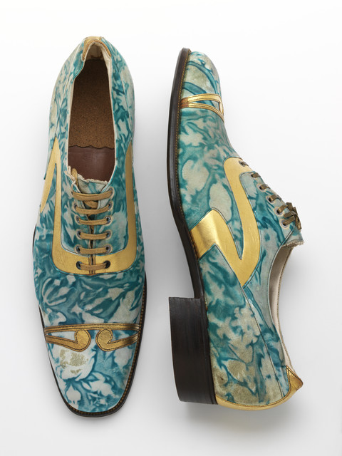 , 'Mens' shoes,' 1925, Victoria and Albert Museum (V&A)