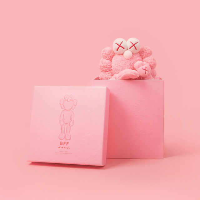 KAWS, 'KAWS Pink BFF Plush Toy Collectible in Box, Limited Edition #2930 of 3000', 2019, World of WonderMei