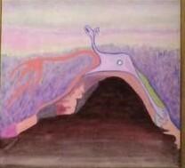 , 'Cueva Rosa 1,' 2015, Galería Karen Huber