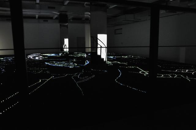 , 'Surface of Spectral Scattering - Abu Dhabi Edition,' 2017, Galerie Brigitte Schenk