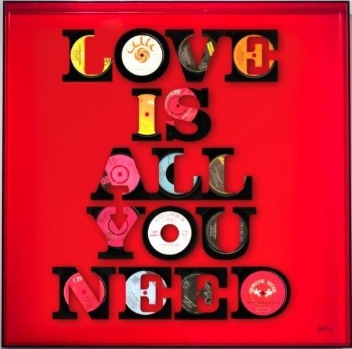 , 'Love is All You Need,' 2016, Duran Mashaal