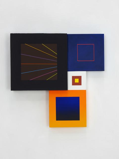 , 'Spatial Object (V),' 2018, Kristin Hjellegjerde Gallery