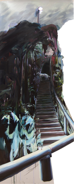 , 'Guarded Staircase,' 2015, The Red Head Gallery