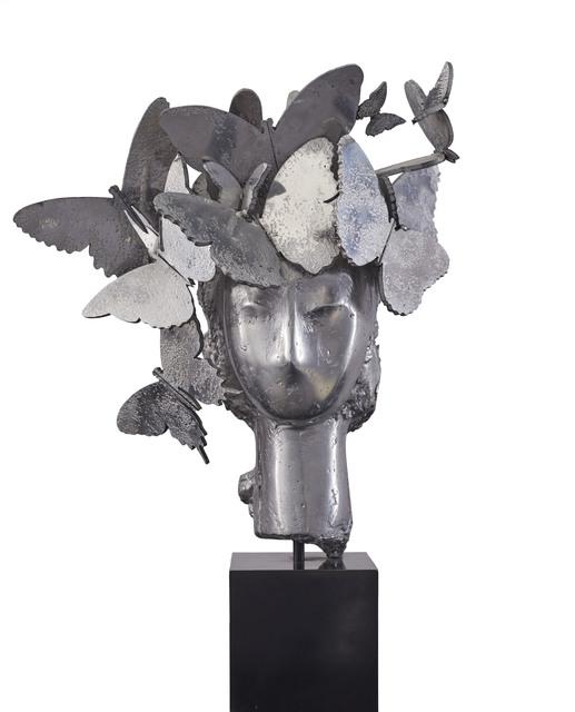 , 'Cabeza con tocado de mariposas,' , Rosenbaum Contemporary