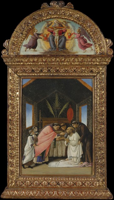 Sandro Botticelli, 'The Last Communion of Saint Jerome', early 1490s, The Metropolitan Museum of Art