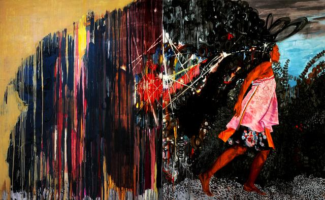 Mequitta Ahuja, 'Parade (diptych)', 2007, Blanton Museum of Art