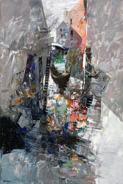 , 'Venezia,' 2018, Spazio Anna Breda