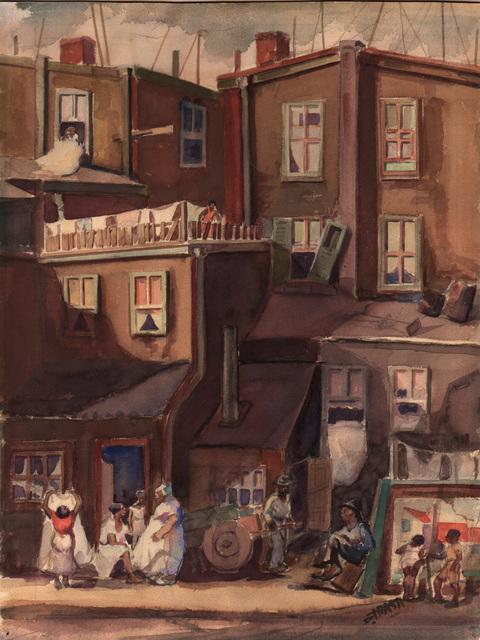 , 'City Plevins,' ca. 1940, Dolan/Maxwell