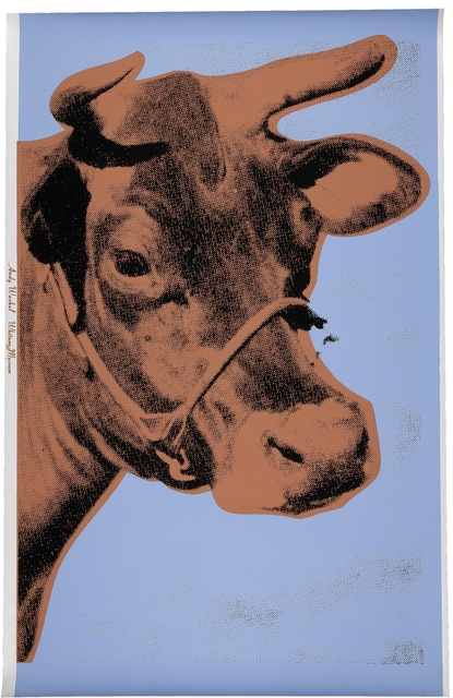 Andy Warhol, 'Cow (F. & S. II.11A)', 1971, Print, Screenprint in colors on paper,from the edition of unknown size, Christie's Warhol Sale