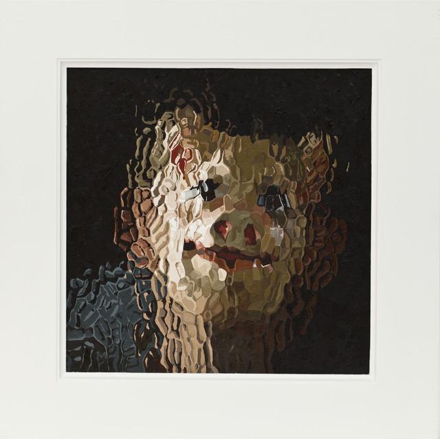 , 'Glass Painting,' 2012, Alex Daniels - Reflex Amsterdam