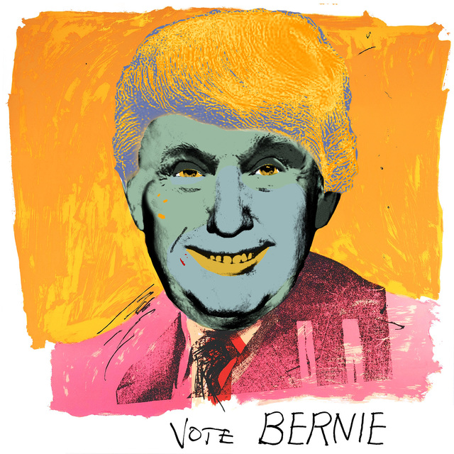 , 'Vote Bernie,' 2016, Robert Berman Gallery