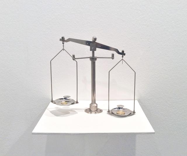 , 'Un nuevo peso,' 2015, Carne