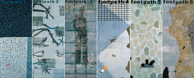 , 'Foot Path 1-6 (work of 6 panels),' , Great Banyan Art