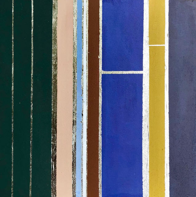 Kate Hooray Osmond, 'Suit and Tie #5', Painting, Oil and gold leaf, panel, Miller Gallery Charleston