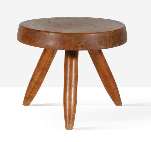 Charlotte Perriand, 'Low stool', circa 1950, Aguttes