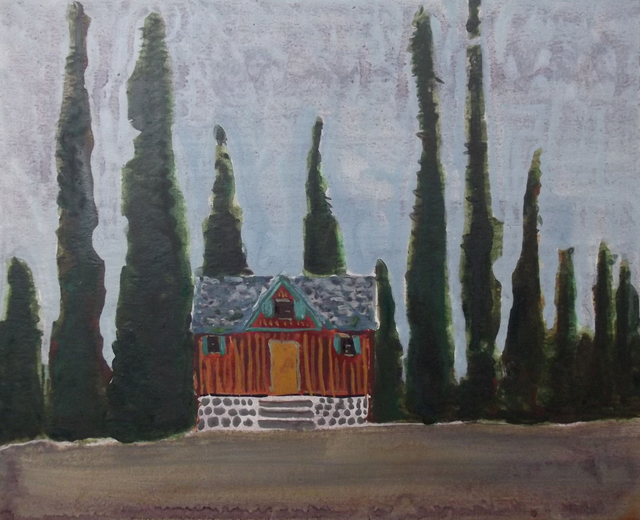 , 'Cabin in the Sierras,' 2016, Tayloe Piggott Gallery