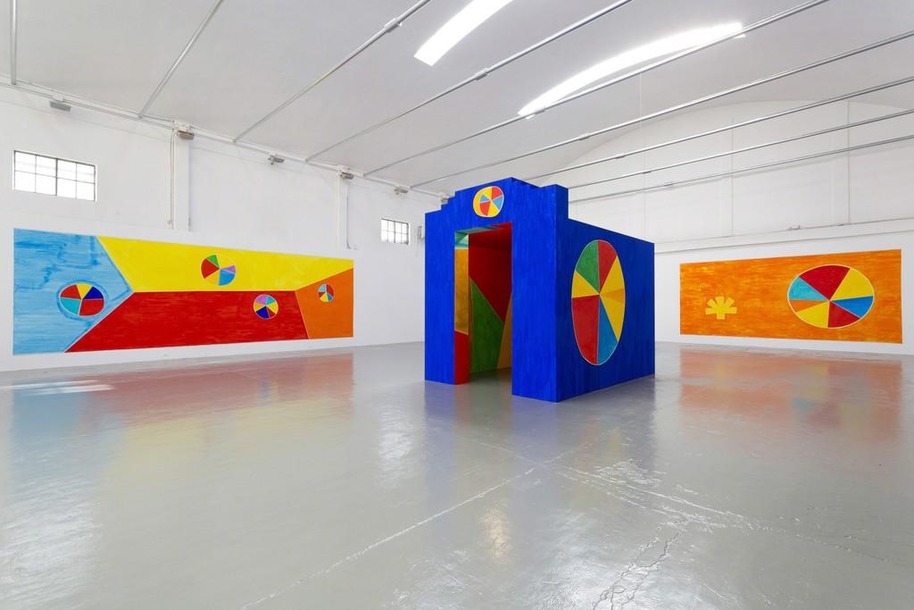 Nicola De Maria, La libertà, 2016 - installation view at Giorgio Persano Gallery, Turin - photo Nicola Morittu
