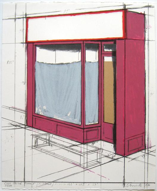 , 'Pink Store Front Project,' 1980, Joseph K. Levene Fine Art, Ltd.