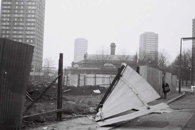 , 'Uninhabited London,' 1977-2016, Linn Lühn
