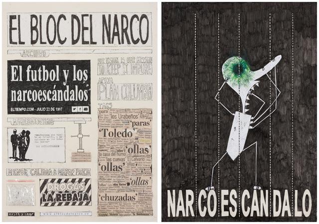 , 'El Bloc Del Narco #1,' 2016, Steve Turner