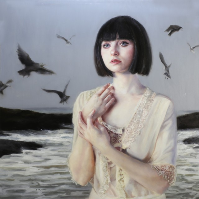 , 'The Wailing of the Gulls Drew Her to the Sea,' 2015, JRB Art at The Elms