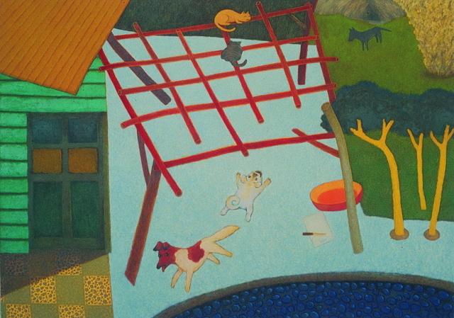 , 'Chasing,' 1988, Taipei Fine Arts Museum