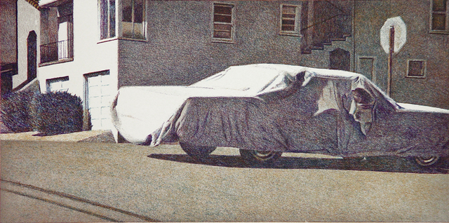 , 'Covered Car - Missouri Street,' 2002, Crown Point Press