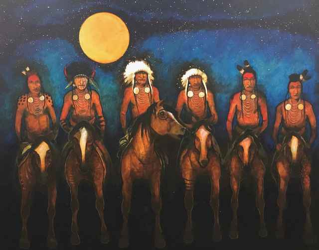 , 'Crow Indian Night Guard,' , Sorrel Sky Gallery