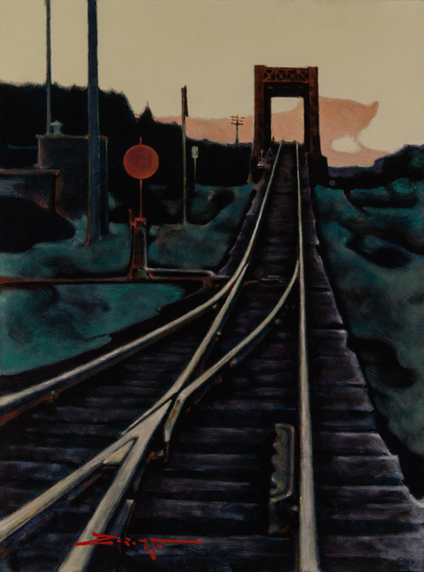 , 'Track & Trestle,' 2018, Patricia Rovzar Gallery