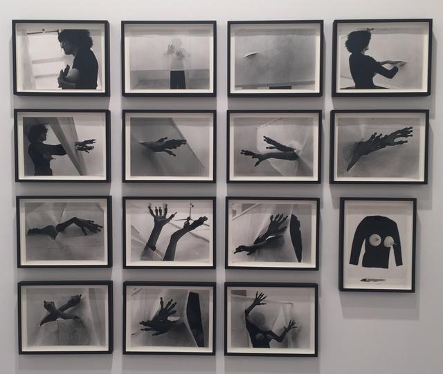 , 'Deflorazione in 14 Stazioni [Defloration in 14 Stations],' 1977, Richard Saltoun