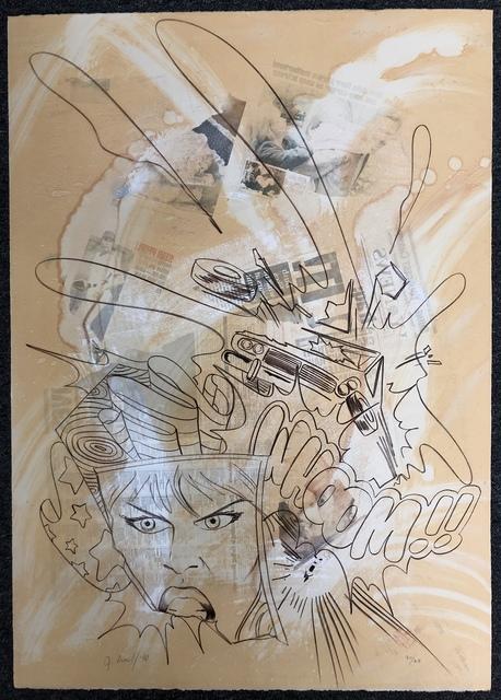 CRASH, 'WHOOM!!', 1990, DANE FINE ART