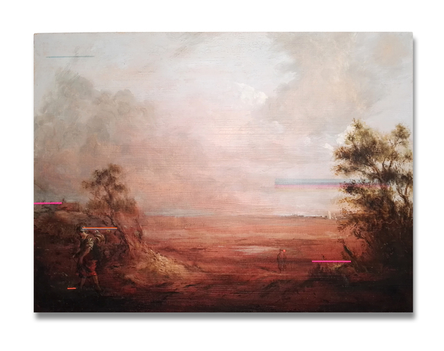 , 'Landscape with Peasant Woman,' 2017, Gibbons & Nicholas