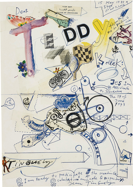 Jean Tinguely, 'Untitled', 15 May 1973, Phillips