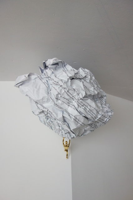 Octavio Abúndez, 'Is art a place for politics? (Thistopia Manifesto), Chronic Stubbornness Series VI', 2017, CURRO