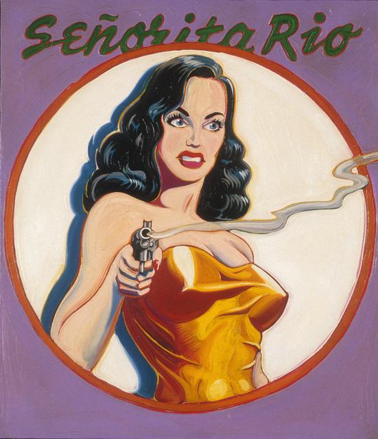 , 'Señorita Rio - Queen of the Spies,' 1963, Louis K. Meisel Gallery
