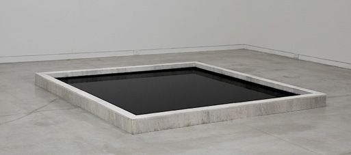 , 'Cuadrado negro sobre fondo blanco,' 2015, Barro Arte Contemporáneo