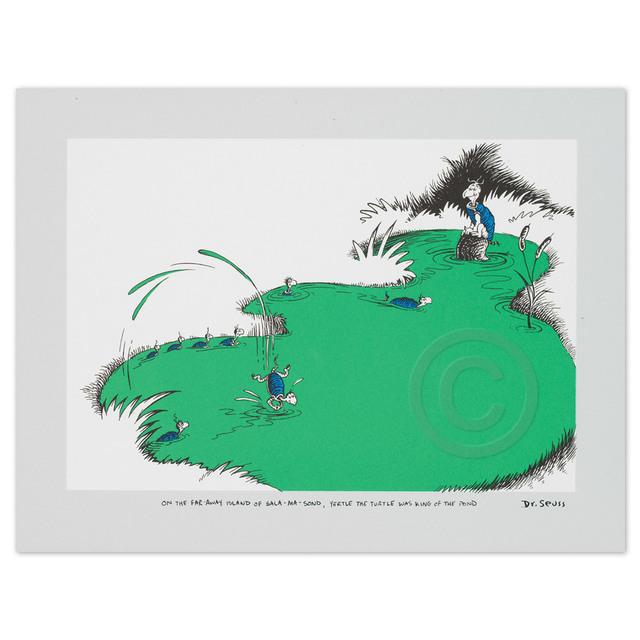 Dr. Seuss, 'Yertle the Turtle', 2001, Huckleberry Fine Art